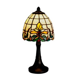 Nostalgia Design Lilja B09-15 Bordslampa 15Cm Tiffany