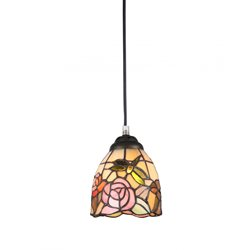 Norrsken Design Rosor F053057 Fönsterlampa Tiffany