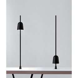 Luceplan Ascent D78pt Bordslampa Med Fix Pin Svart