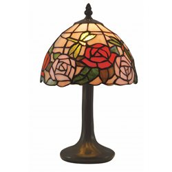 Norrsken Design Rosor B083057 Bordslampa Tiffany 20Cm