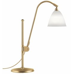 Gubi BL1 Bordslampa Bone China/Mässing