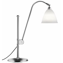 Gubi BL1 Bordslampa Bone China/Krom